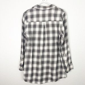 Madewell Tops - Madewell Gingham Check Buttom Down sz L